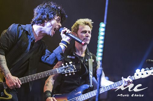 Green Day hit teh Barclay's Center!