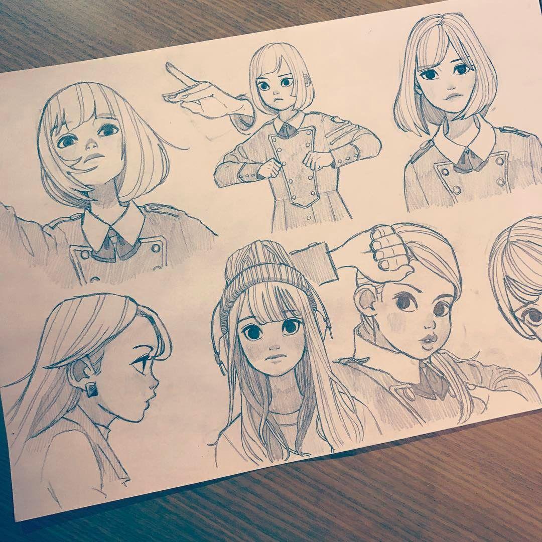 Картинки для того чтобы рисовать своих персонажей