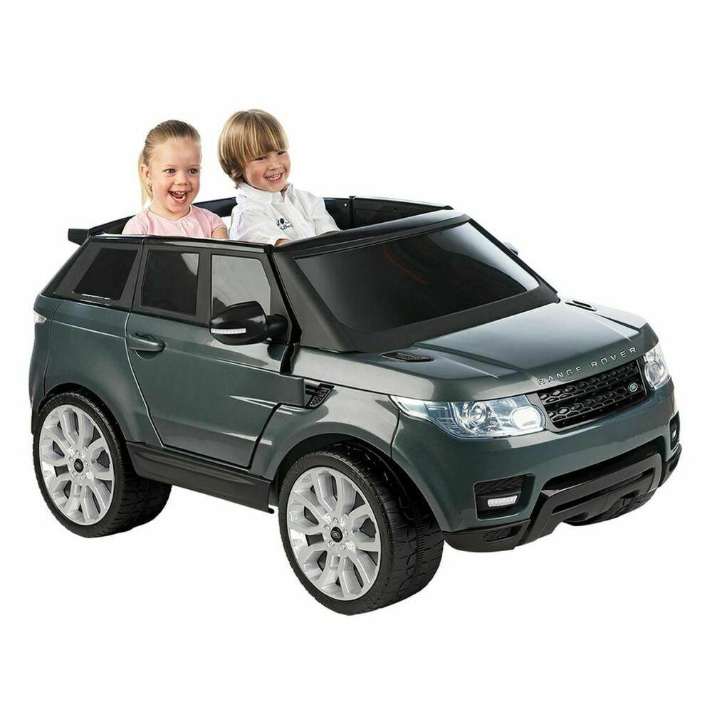 Voiture Electrique Pour Enfant Filles Garcons 12 V Feber Range Rover Sport Gris Voiture Electrique Voiture Electrique Enfant Voiture Jouet