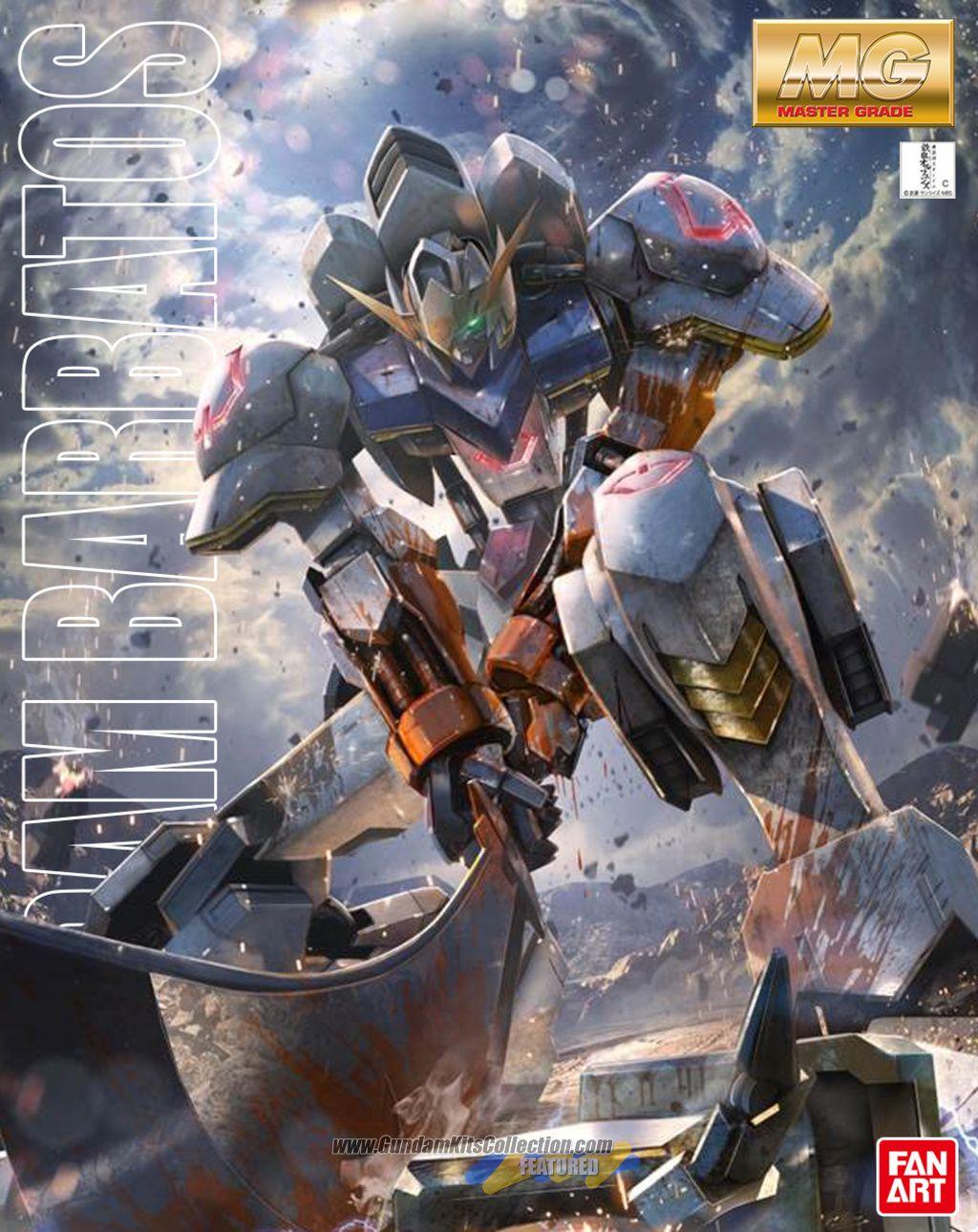 Mg 1 100 Gundam Barbatos Fanart Gundam Iron Blooded Orphans Gundam Wallpapers Gundam