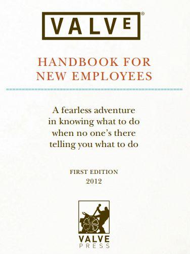Valve employee handbook Layouts Pinterest Employee handbook
