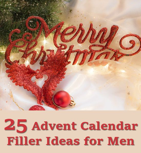 Calendar Ideas For Husband : Advent calendar gift ideas fillers for men women and