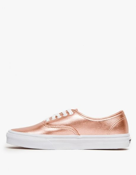 vans authentic rose metallic
