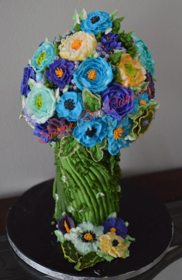 Flower bouquet . by Inoka (Sugar Rose Cakes)