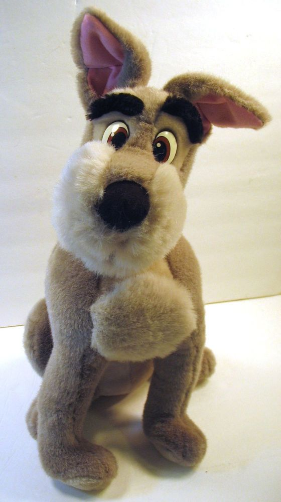 Details About Vintage Disney Parks Lady And The Tramp Plush