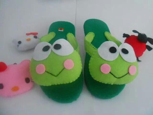 Sandal Flanel Sandal Flanel Made By Order Proses Pembuatan Kurang