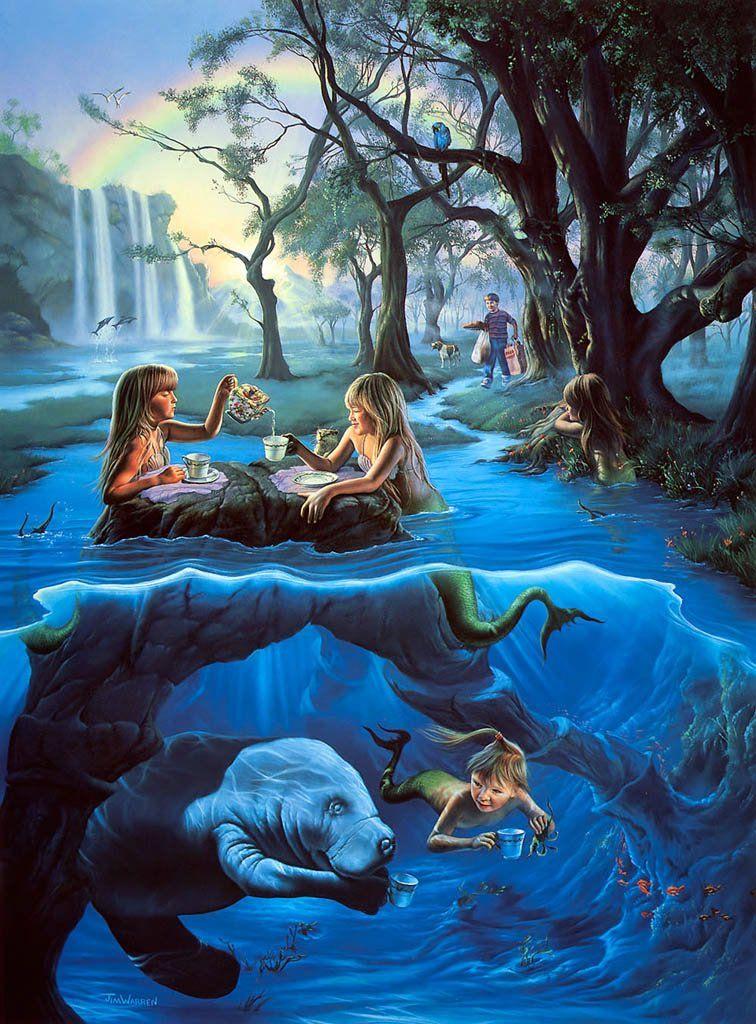 Jim Warren - Mermaid's Tea Party