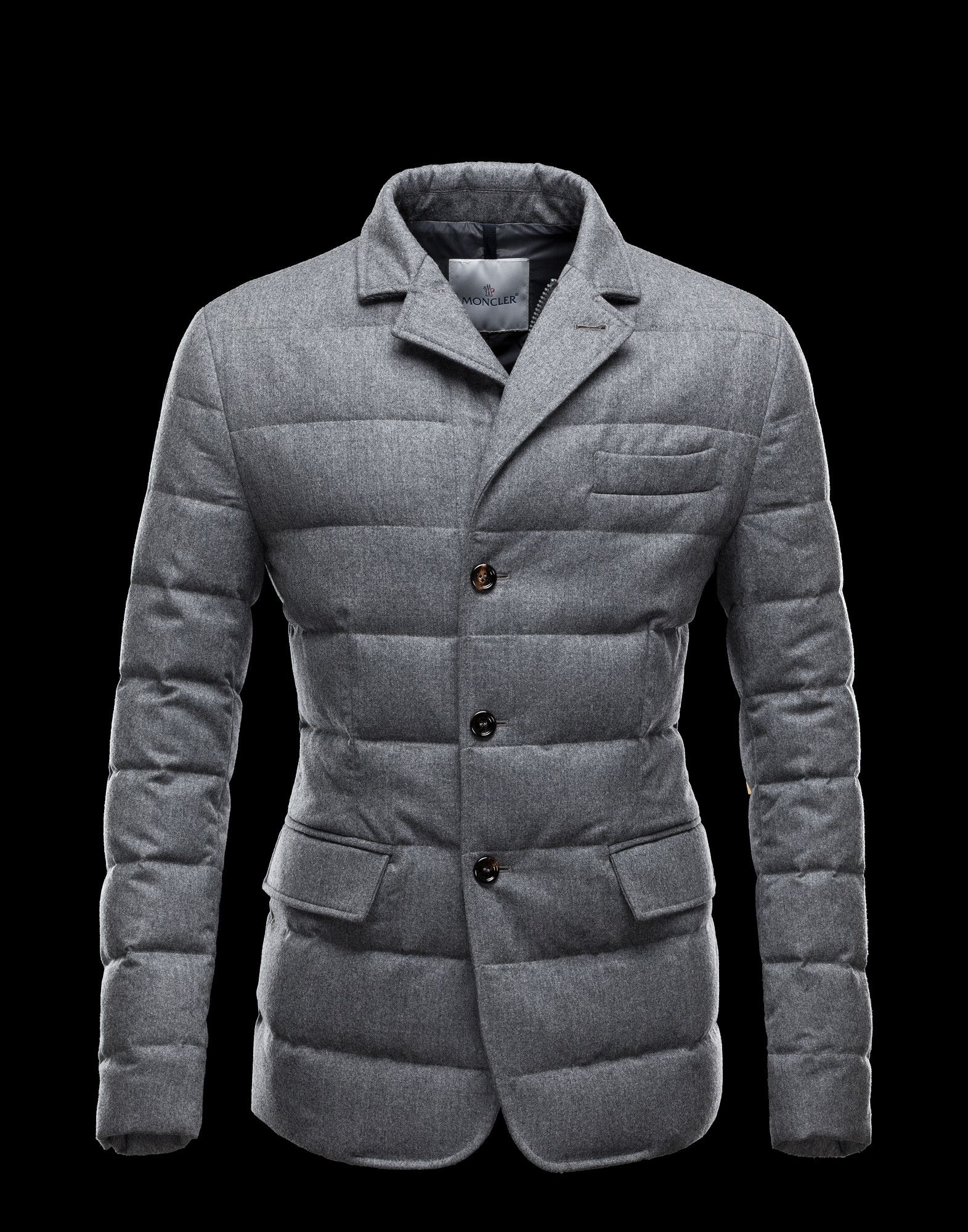 MONCLER Men - Fall/Winter 12 - OUTERWEAR - Jacket - Rodin www.pn warm winter, we need warm coat ,so mordern down coat, my best loved moncler.