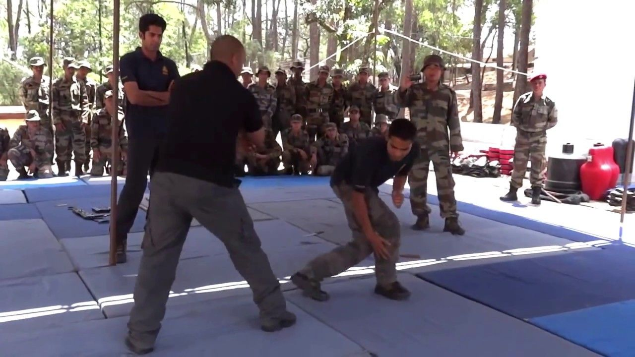 ▷Indian Army Para Special Forces Close Combat Training II