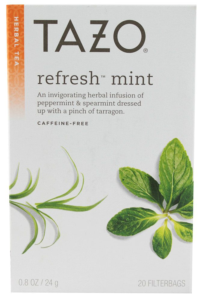 Tazo Herbal Infusion Tea Refresh Mint Vitacost Pinterest Teas