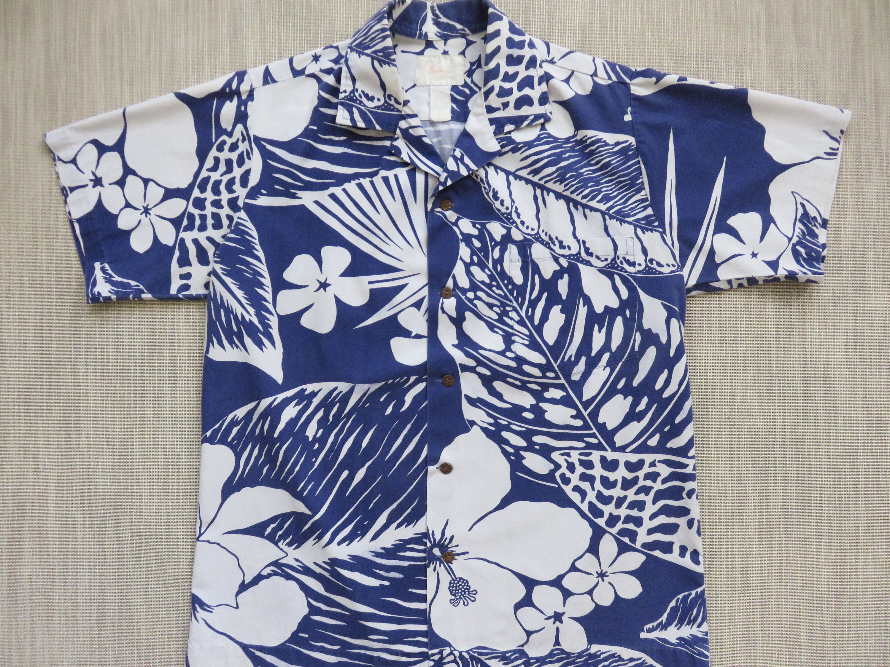 004e97b1 Hawaiian Shirt Men SHANORA of Kauai Aloha Shirt Mod Rockabilly Funky Mongo  Pop Tropical Print 100% Cotton Camp - M - Oahu Lew's Shirt Shack by ...