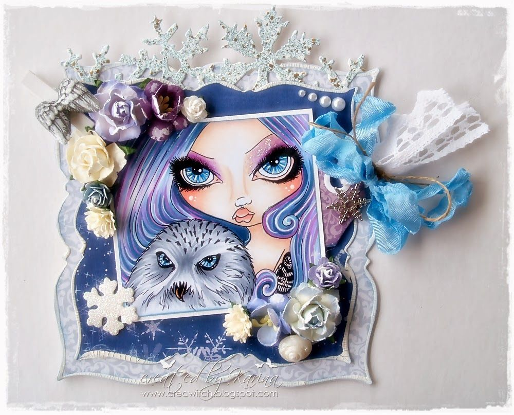 Artist of the Week at Sweet Pea Stamps - C R E A W I T C H