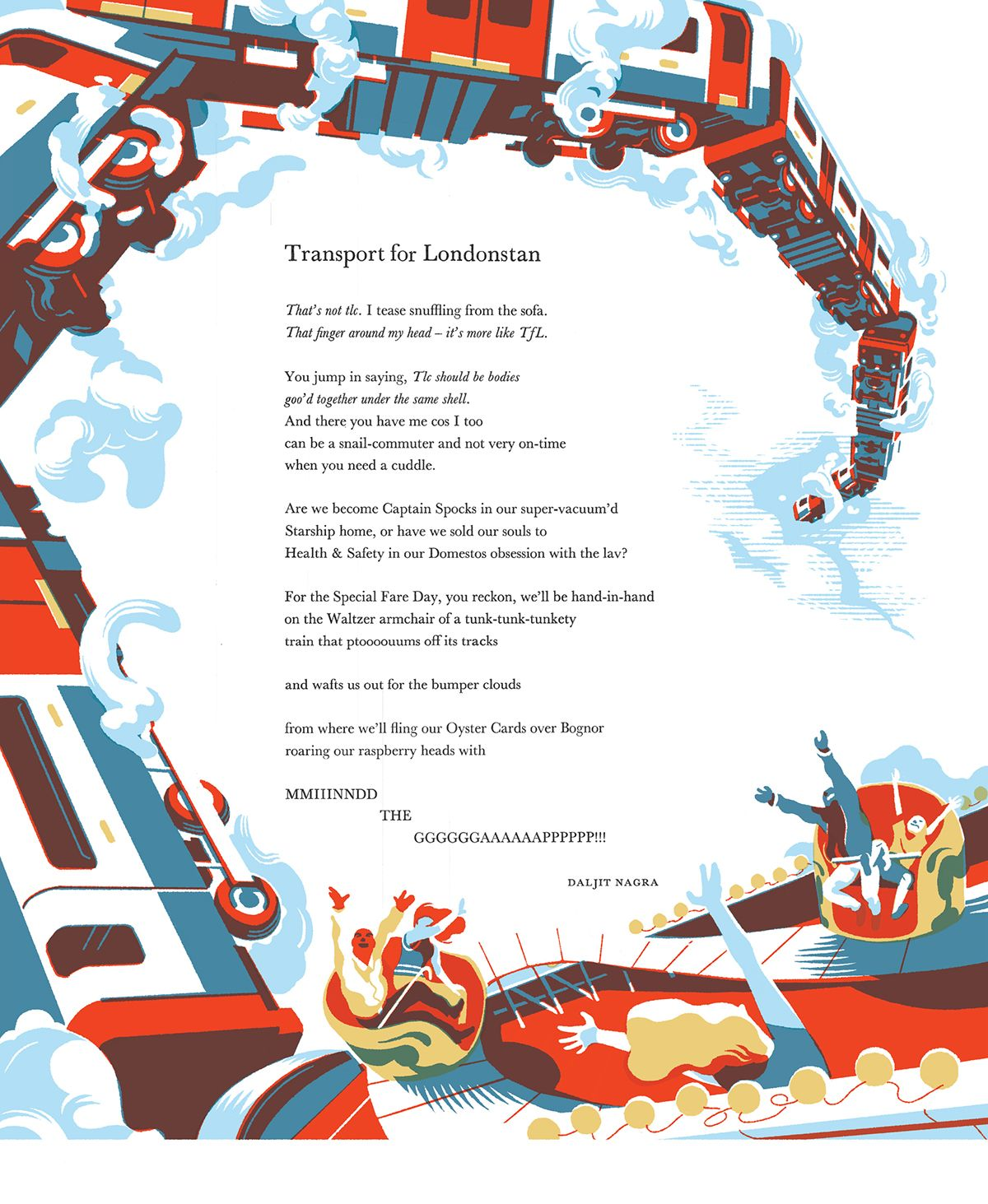 FABER&FABER'S POETRY BROADSIDE - Bruno Mangyoku