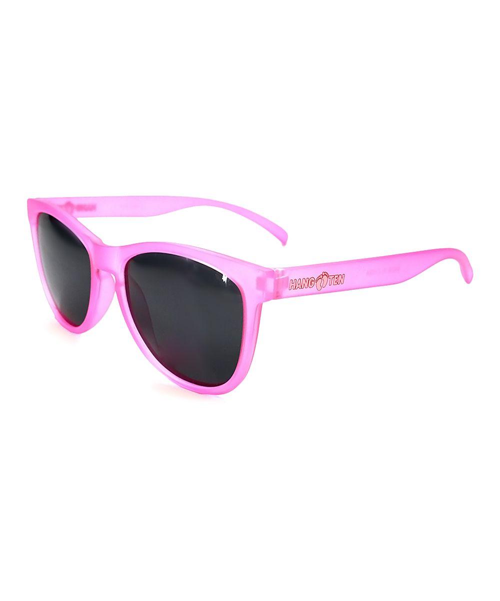 Pink Polarized Sunglasses