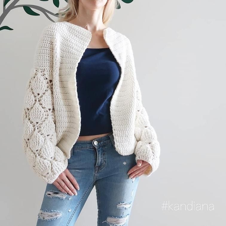 Cardigan Figs - Crochet pattern   chompas y sacos 4   Pinterest ...