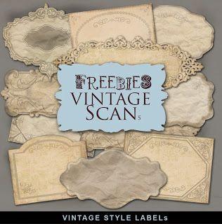 Freebies Vintage Style Labels Kit Far Far Hill Free Database Of Digital Illu Vintage Labels Printables Vintage Labels Printables Free Free Vintage Printables