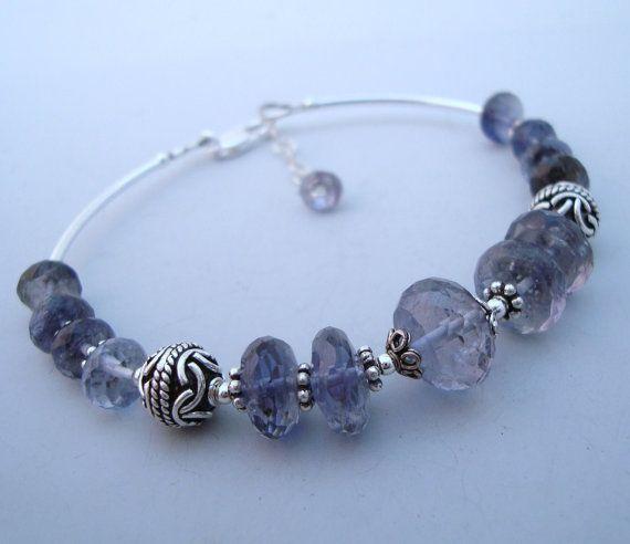 Iolite Water Sapphire Gemstone Sterling Silver by eedesigns05, $59.99