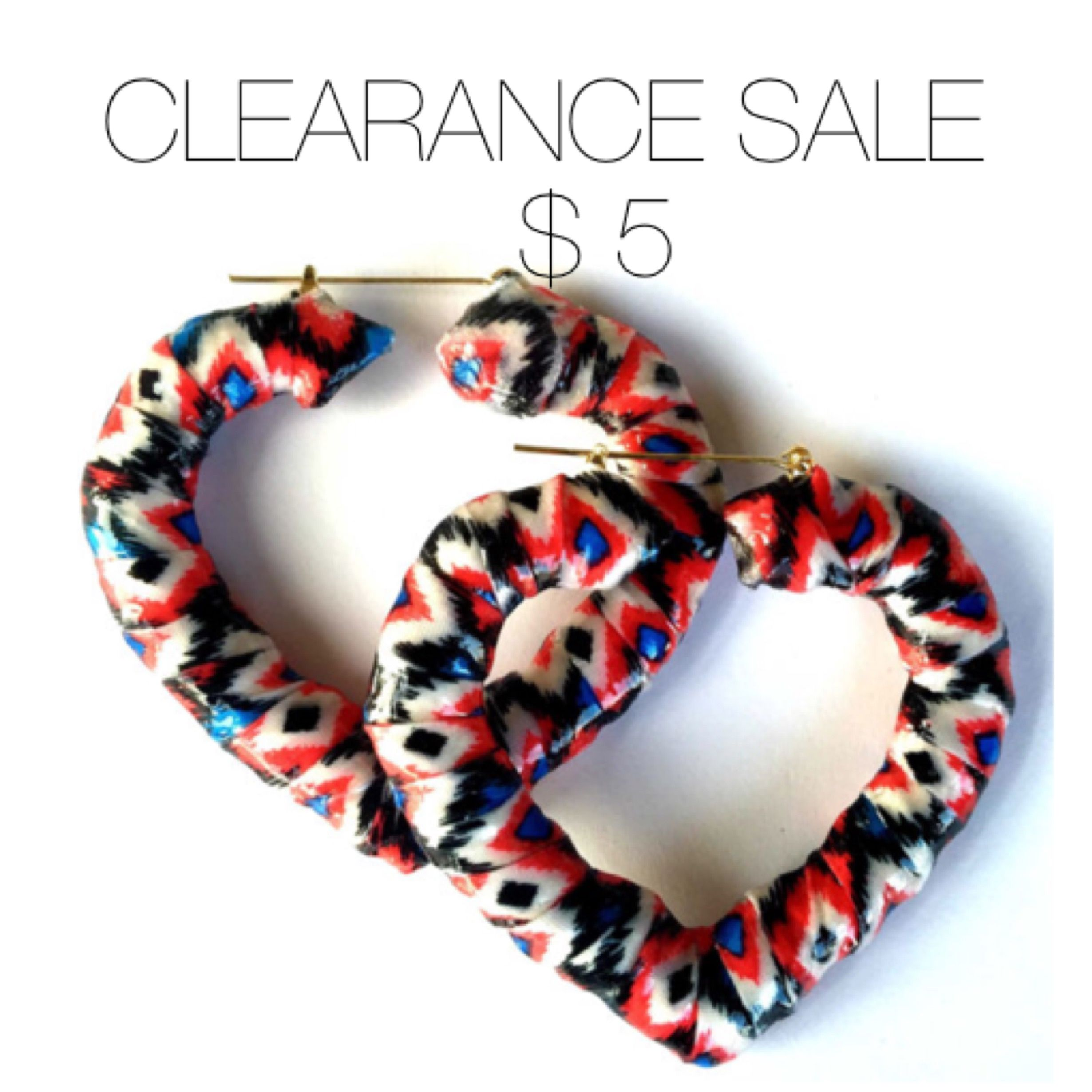 SOLD OUT Tribal/Aztec Print Heart Shaped Bamboo Earrings. | My ...