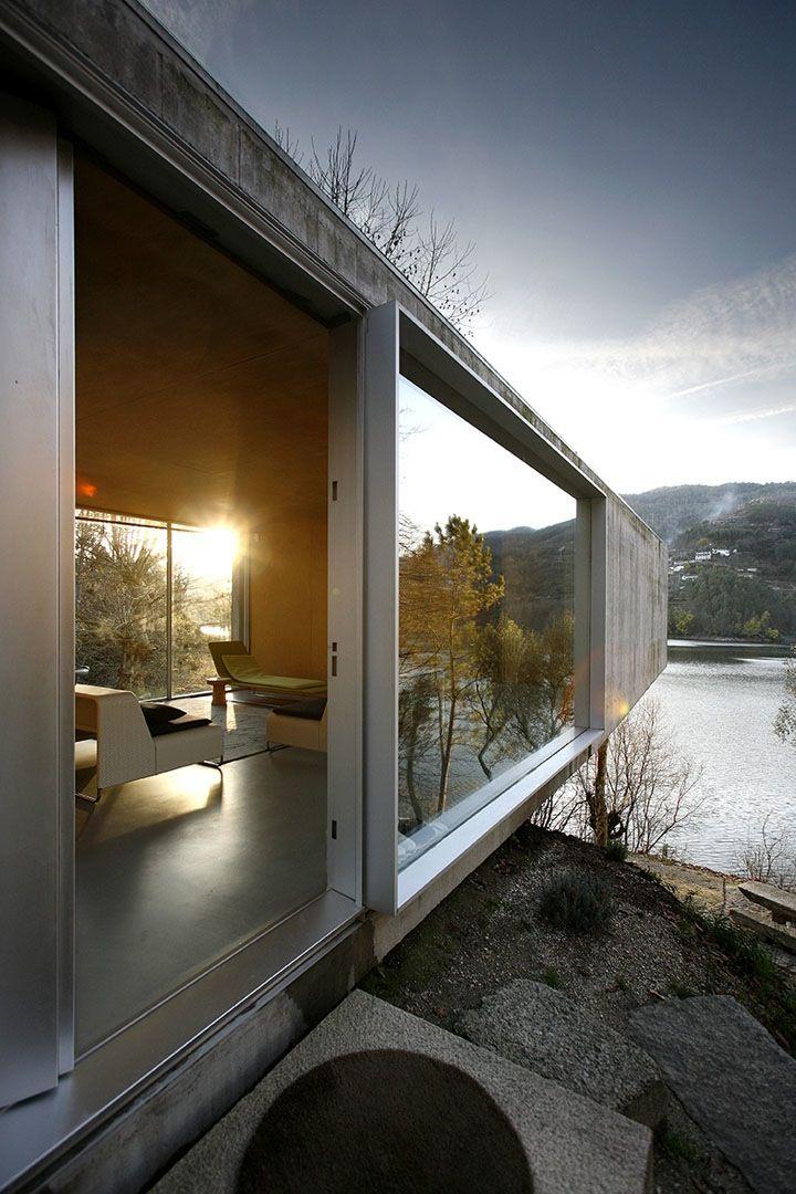 Large windows - open concept