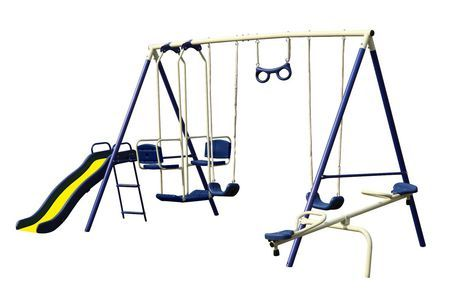 8 Station Swing Set Available From Walmart Canada Buy Toys Online