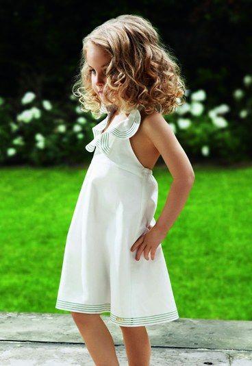 c7ae5abf239fc Robe dos-nu Chloé - Costume enfant mariage   costume ceremonie ...
