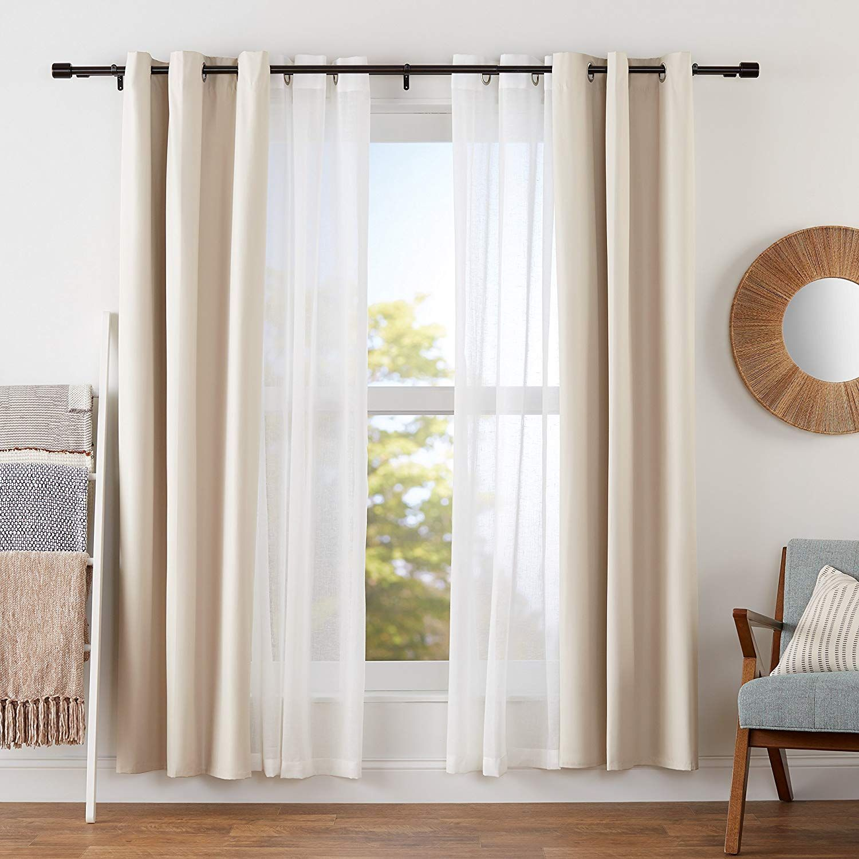 curtain rods finials