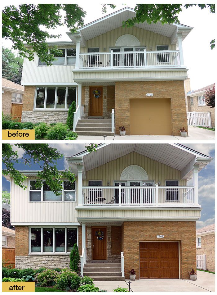 These Homeowners Replaced Their 1950s Garage Door With A Clopay Gallery  Collection Steel Door Installed By