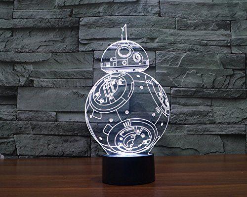 Star Wars Licht Bunte 3d Stereoskopische Visuelle Led Licht Usb Tischlampe Tuofeng Nachtlicht Touch Pad Schalter Und Produziert Einz Nachtleuchte Led Licht Led