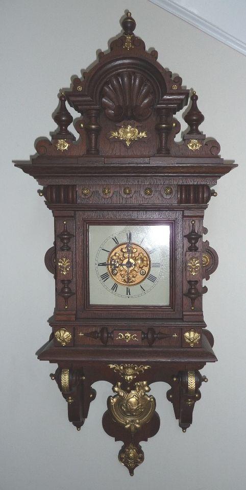 f5b059c34d4 Junghans Freeswinger Clock Relógios Antigos