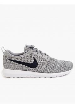 1524929b1c05 Nike Men s Grey Flyknit Roshe Run Sneakers