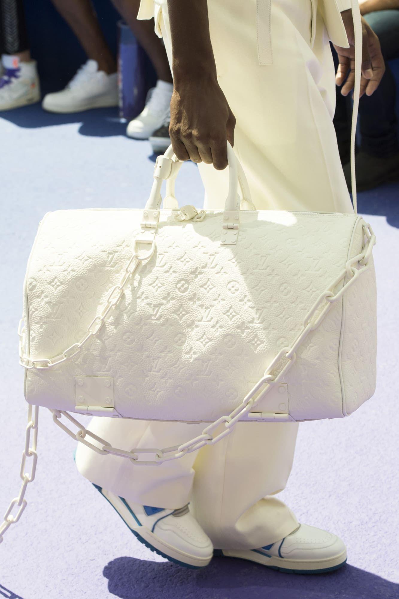 fbc63c5fa44 Louis Vuitton Men s Spring Summer 2019 Sneakers Sunglasses Bags Accessories  - Fashionista