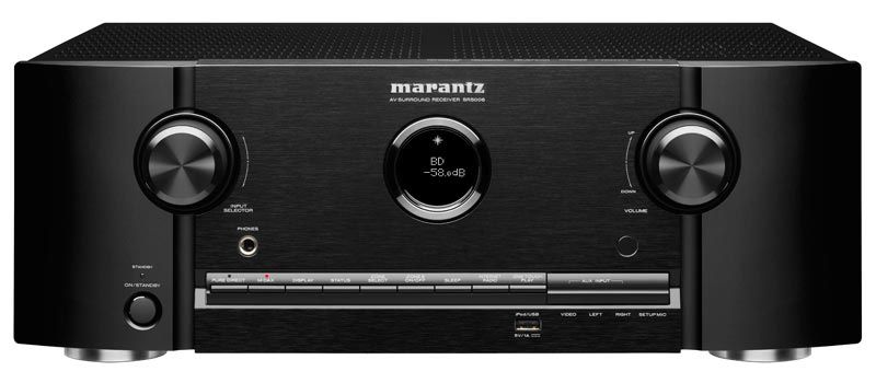 Marantz Sr5006 7 1 Home Theater Receiver Product Shot Marantz