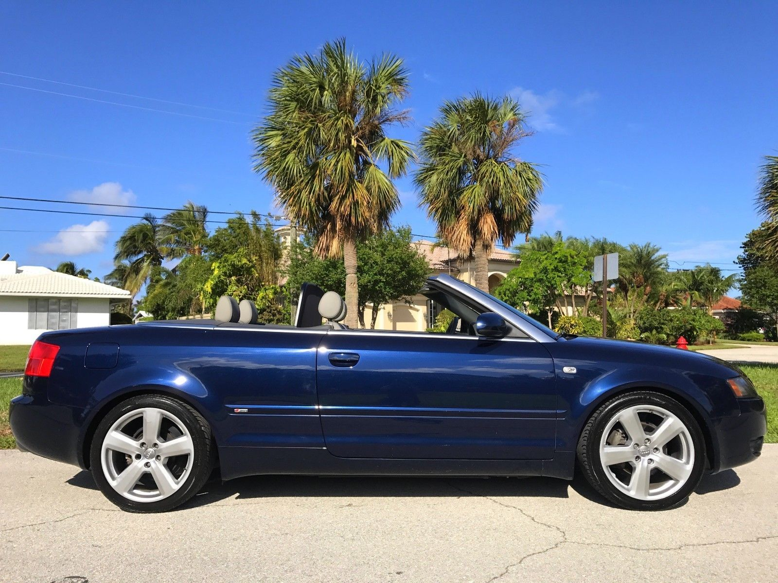 Cool Great 2006 Audi A4 S Line Cabriolet Over 30 Service Records Wow Convertible Hid Headlamps Bose Everything