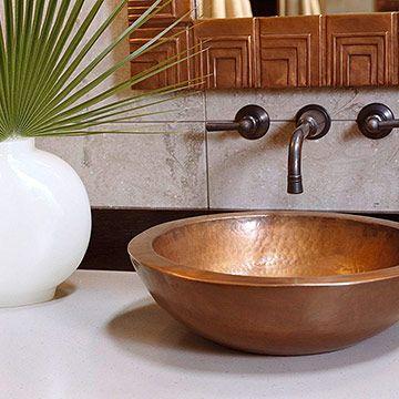 Stylish Vessel Sinks Copper Sink Bathroom Sink Vessel Sinks