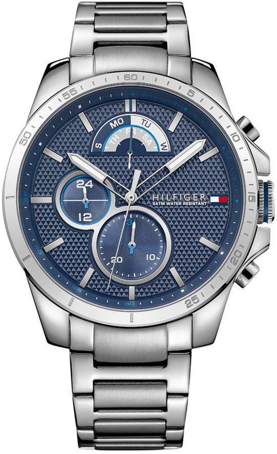 Tommy Hilfiger Men's Sport Stainless Steel Bracelet Watch