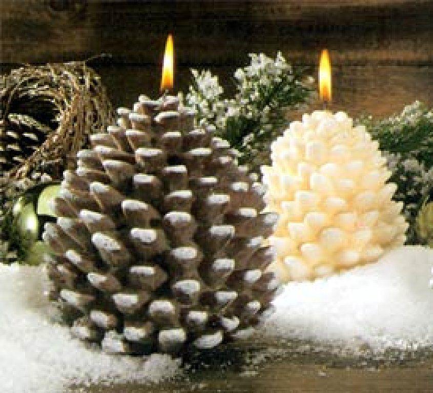 Adornos con pi as decorar tu casa adornos y es facil - Pinas decoradas para navidad ...