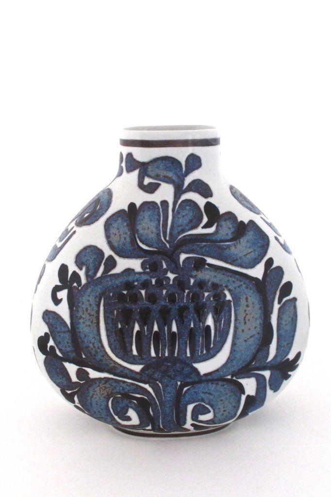 Royal Copenhagen Large Tenera Vase By Kari Christensen Royal