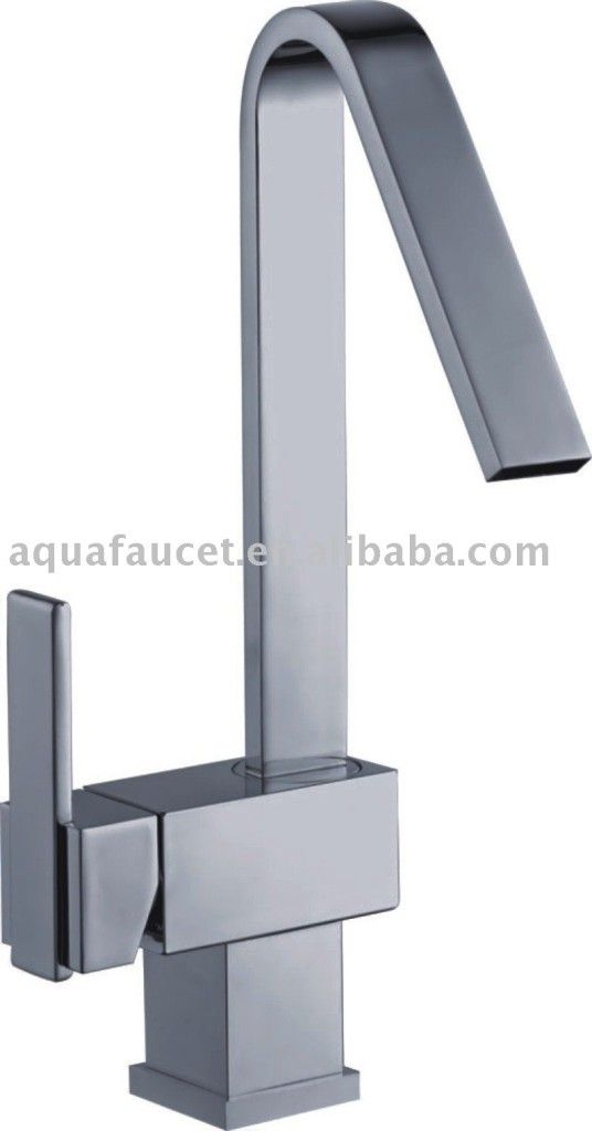 Kitchen Modern Square Countertop Kitchen Faucet Mixer Ultra