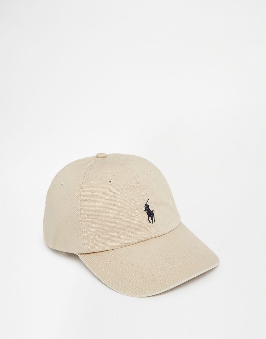 Image 1 of Polo Ralph Lauren Logo Baseball Cap  d6d4f1bc4d9