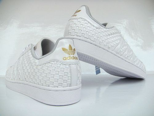 ladrar Pulido bancarrota  Adidas Superstar Weave White - Limited Edition | Casual shoes, Shoes,  Wedding sneaker