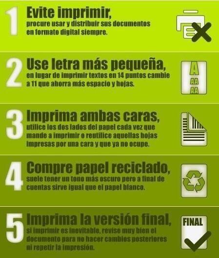 Consejos para imprimir sosteniblemente how to diy pinterest diy y green - Consejos de reciclaje ...