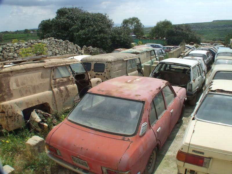 scrap yard spotting on Gozo | ghosts of better days | Pinterest