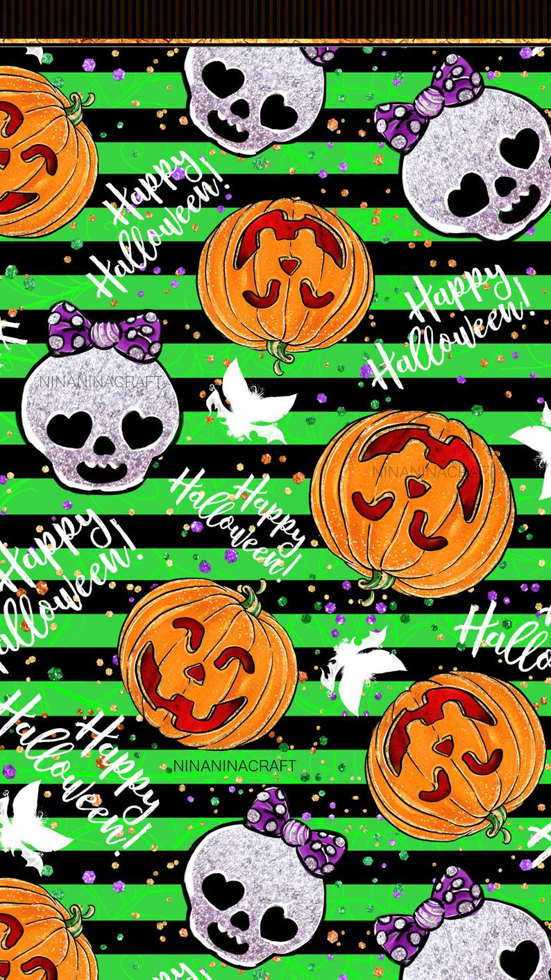 Freebie Cute Halloween Digital Paper Pack Halloween Etsy Halloween Wallpaper In 2020 Halloween Wallpaper Backgrounds Halloween Desktop Wallpaper Halloween Digital