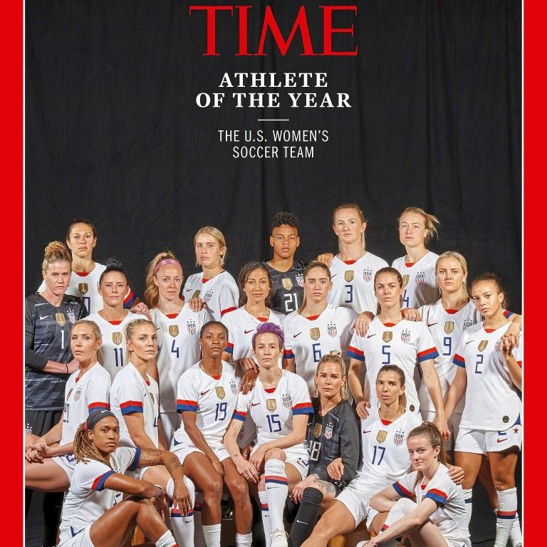 Time Magazine Athlete Of The Year Usa Women S National Team Soccer In 2020 Us Women S National Soccer Team Usa Soccer Women Womens Soccer