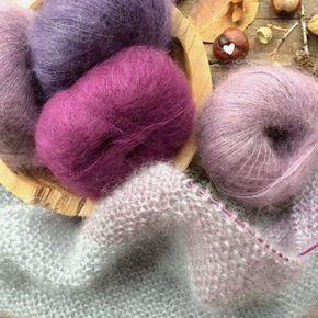 Anleitung Dreieckstuch stricken Knit Knit Berlin #crochetponchokids