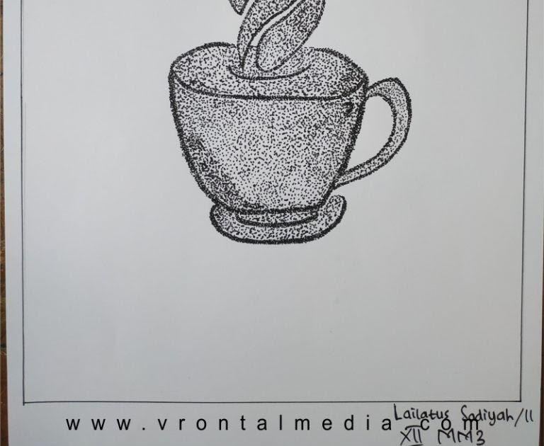 19 Gambar Pointilis Bunga Hitam Putih Contoh Gambar Dengan Teknik Pointilis Sederhana Dan Keren Download Unduh 72 Gamb Lukisan Bunga Gambar Lukisan Gambar