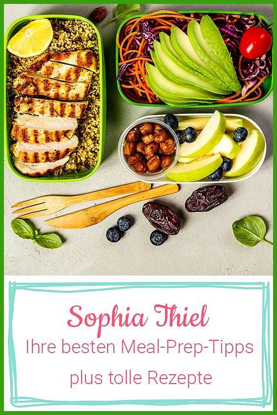 Sophia Thiels Rezepte: Mit Meal Prep zum Fitness- und Abnehmerfolg #Abnehmerfolg #Fitness #Fitness f...