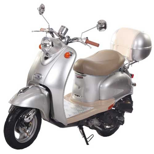 The PMZ50-5 scooter from IceBear is one of the most elegant