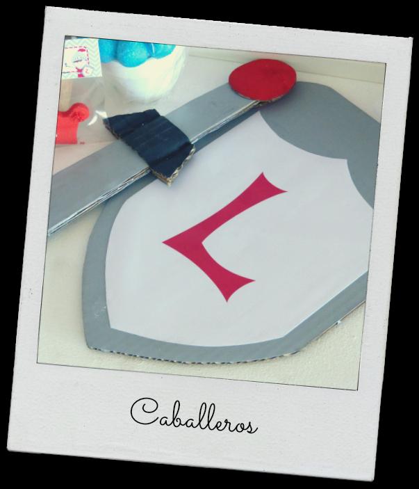 Espada y escudo | fiesta de principes y princesas | Pinterest ...