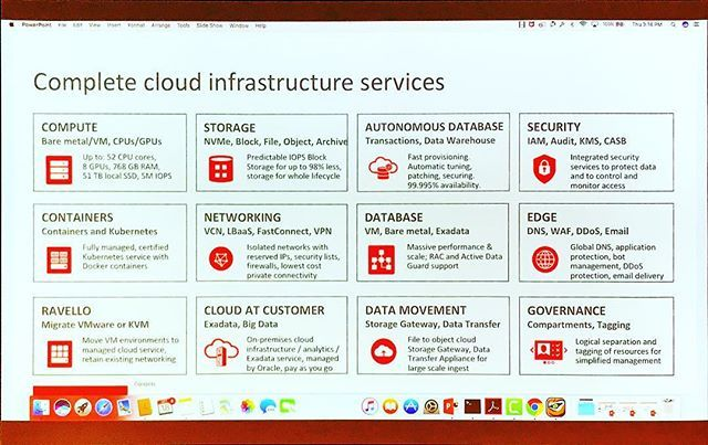 oracle #Cloud services #tfd17 | Code Paradise | Oracle cloud, Clouds